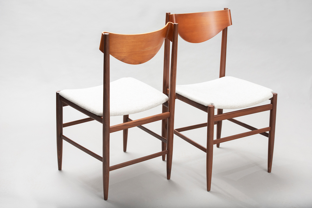 Gianfranco Fratinni dining chairs for Cassina | 4