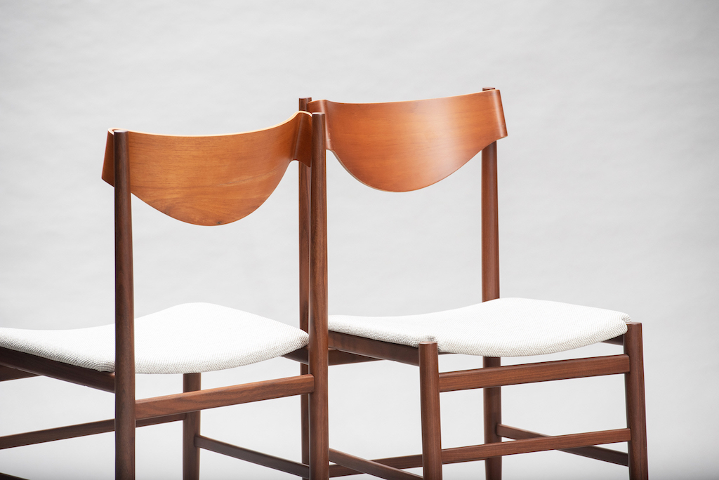 Gianfranco Fratinni dining chairs for Cassina | 5