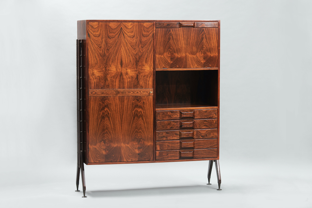 Rosewood Cabinet Franco Albini Style