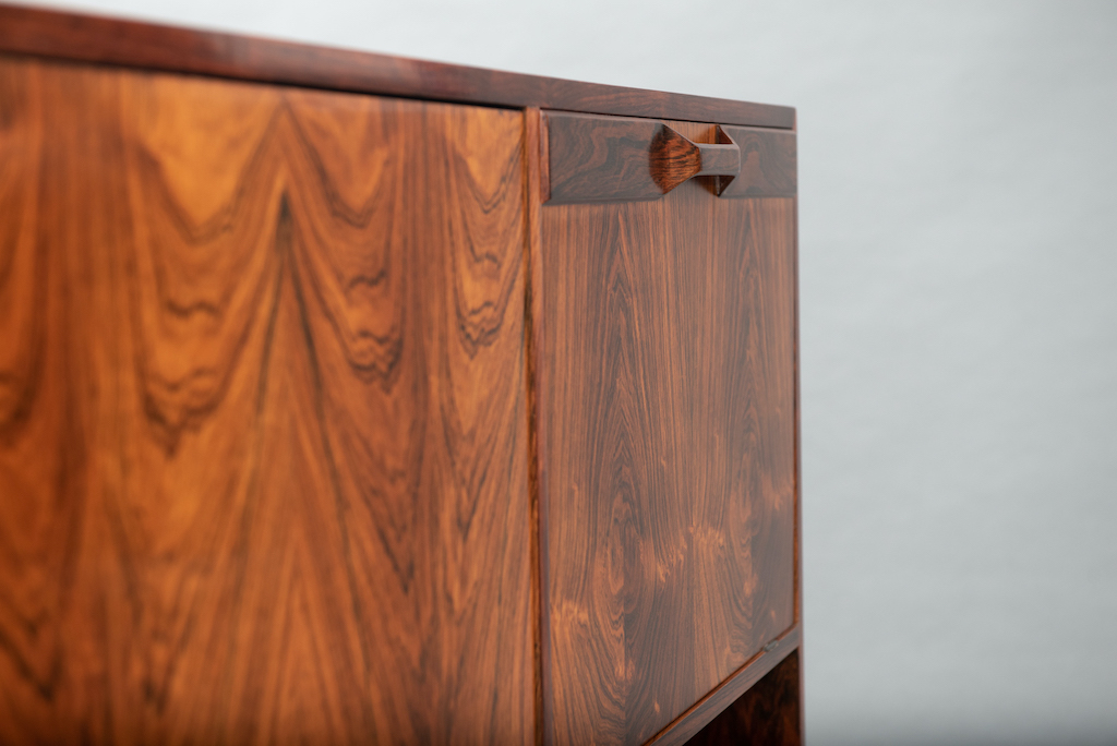 Rosewood Cabinet Franco Albini Style   12