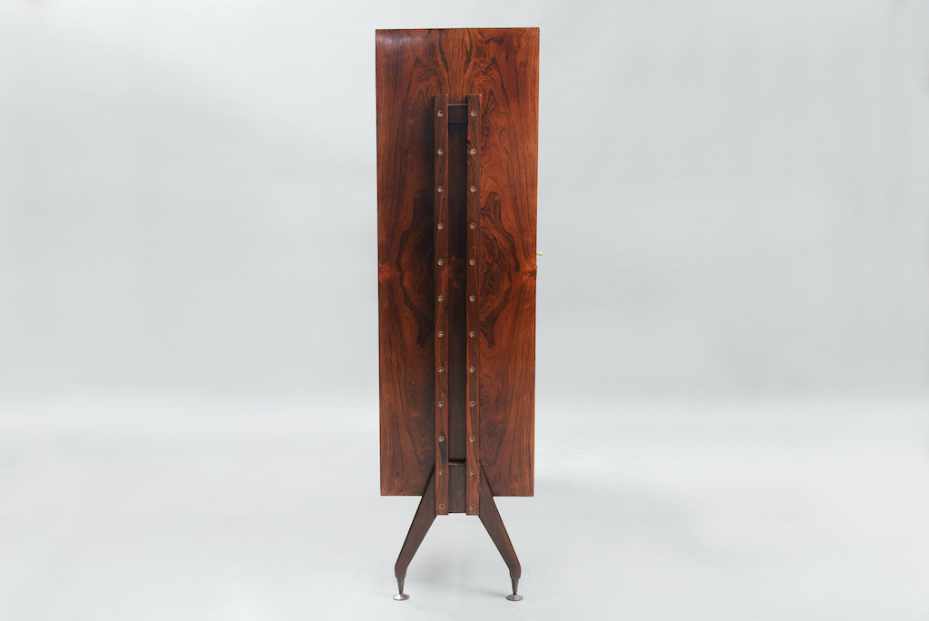 Rosewood Cabinet Franco Albini Style   3