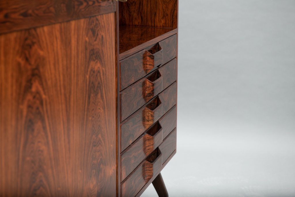 Rosewood Cabinet Franco Albini Style   6