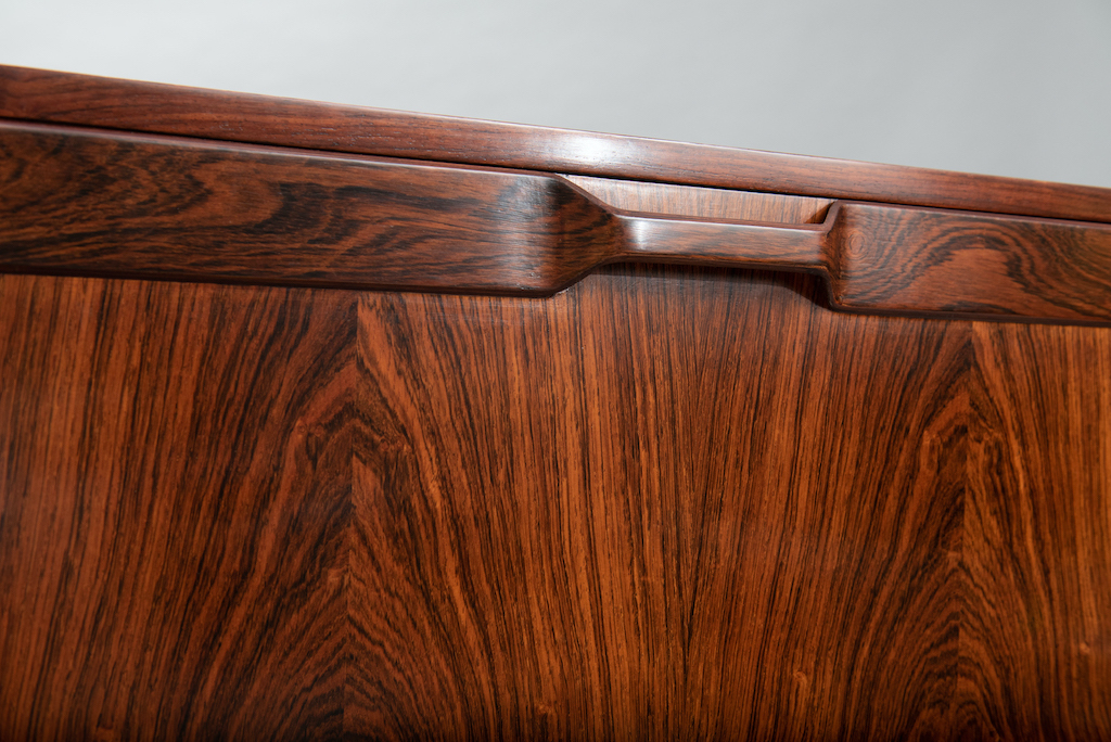 Rosewood Cabinet Franco Albini Style   8