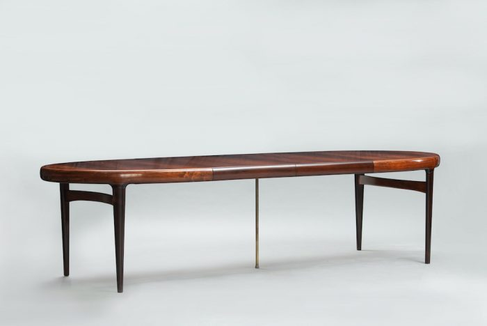 Rosewood Mid-century dining table