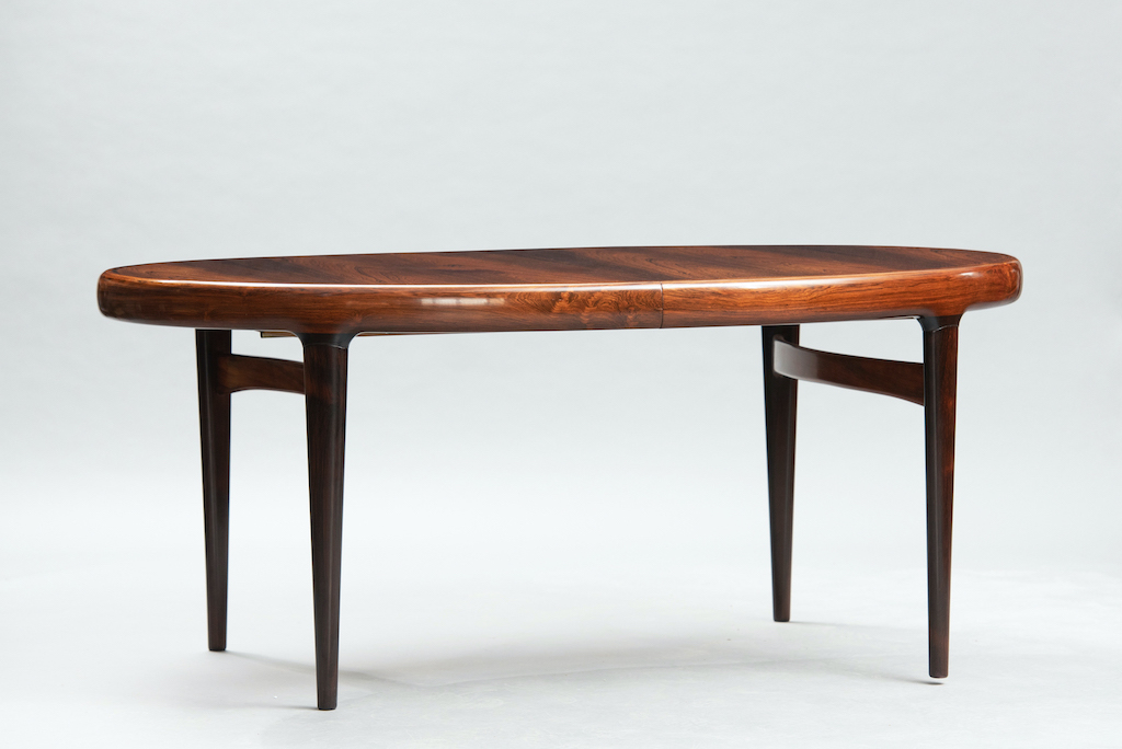 Rosewood Mid-century dining table | 1