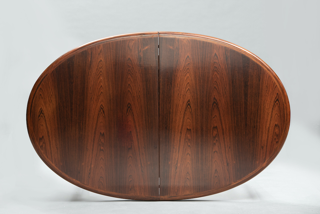 Rosewood Mid-century dining table | 3
