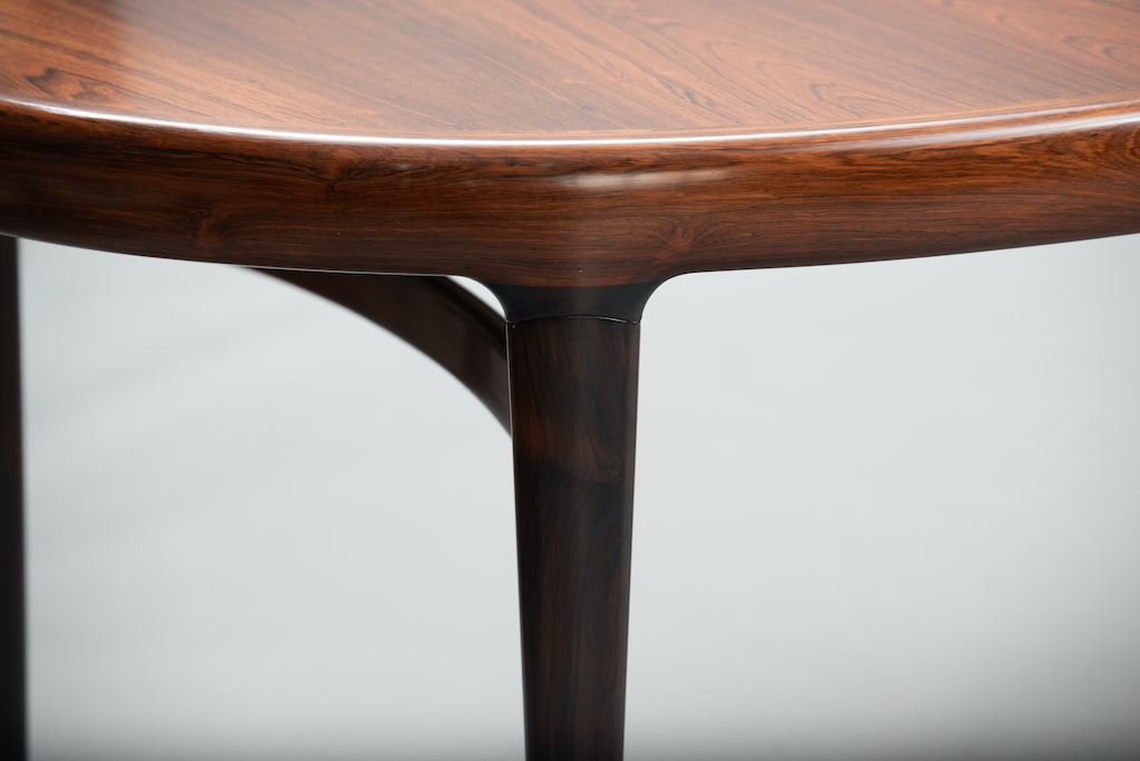 Rosewood Mid-century dining table | 6