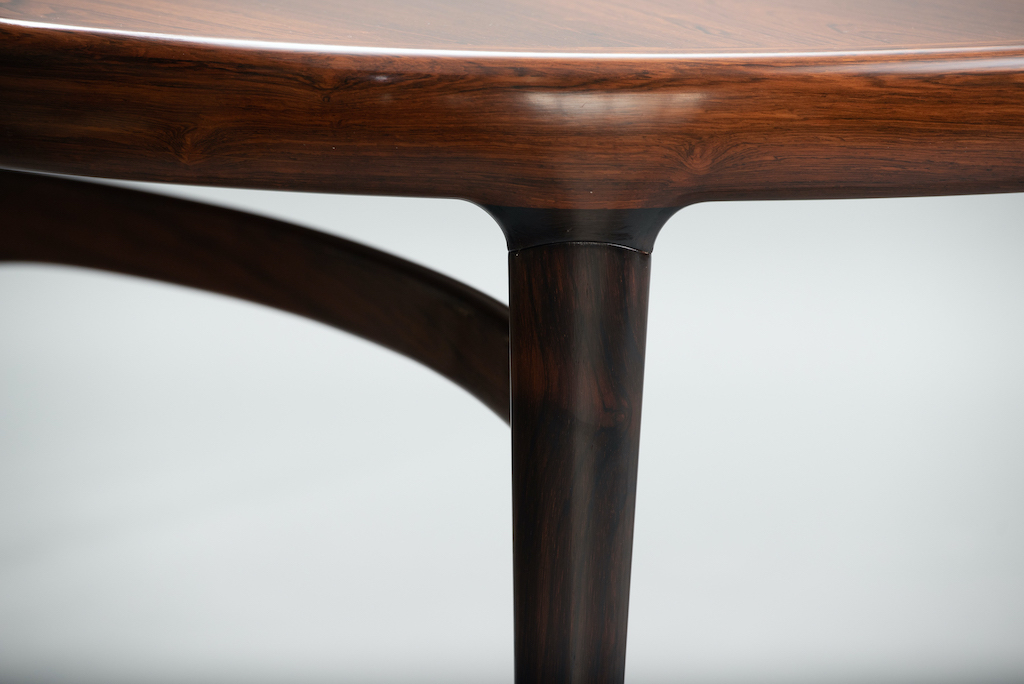 Rosewood Mid-century dining table | 7