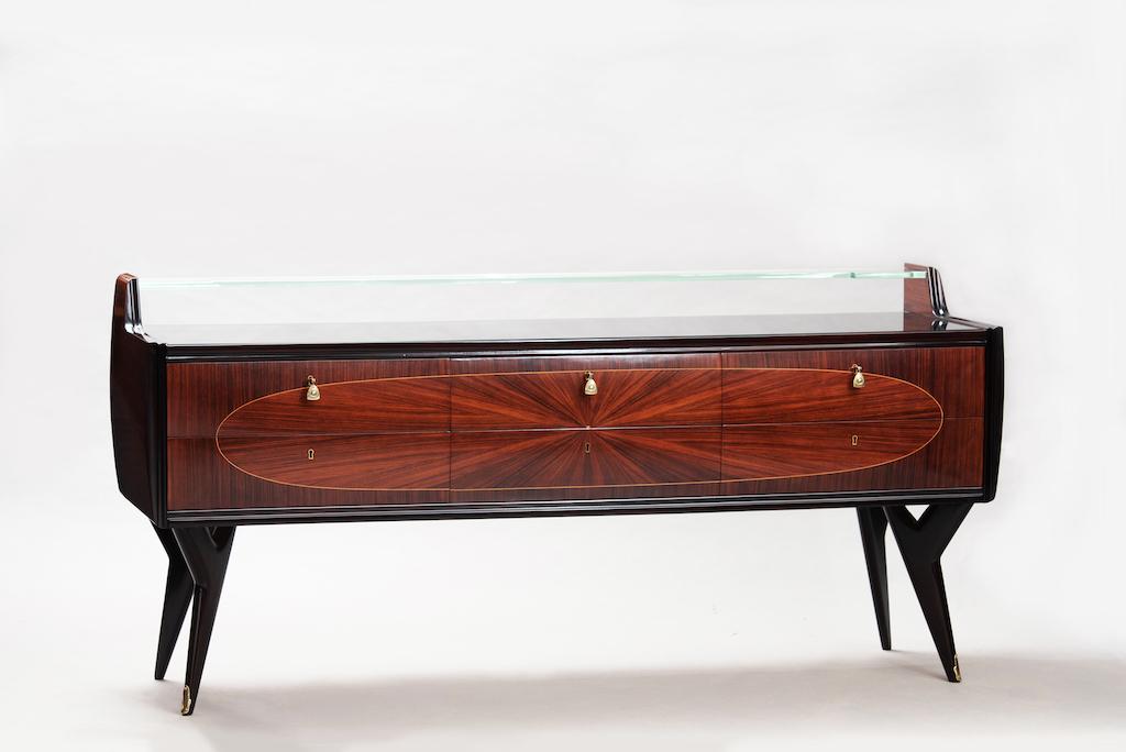 Rosewood Mid-century Italian chest