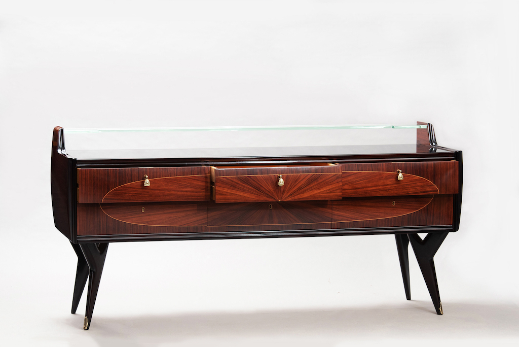 Rosewood Mid-century Italian chest | 1