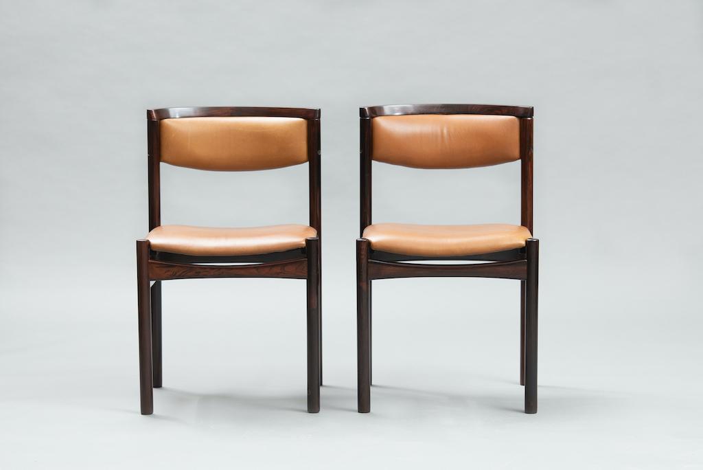 Sax Møbelfabrik rosewood dining chairs | 3