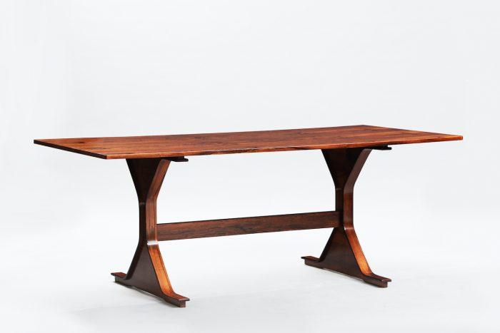 Gianfranco Frattini rosewood dining table