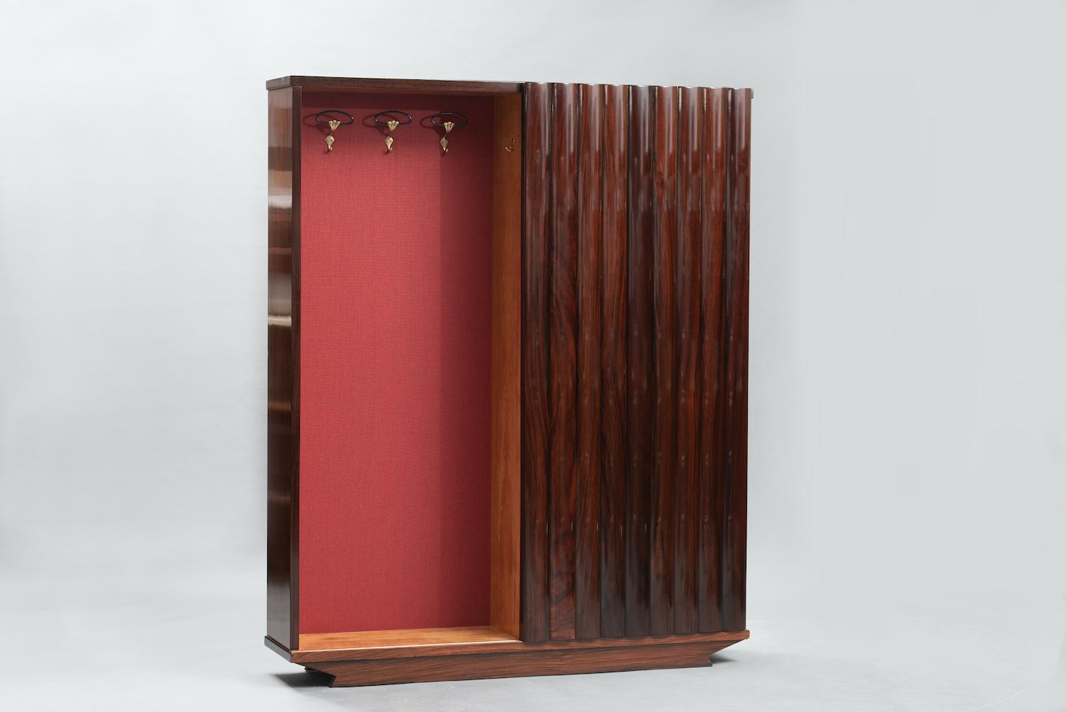 Mid-century rack console