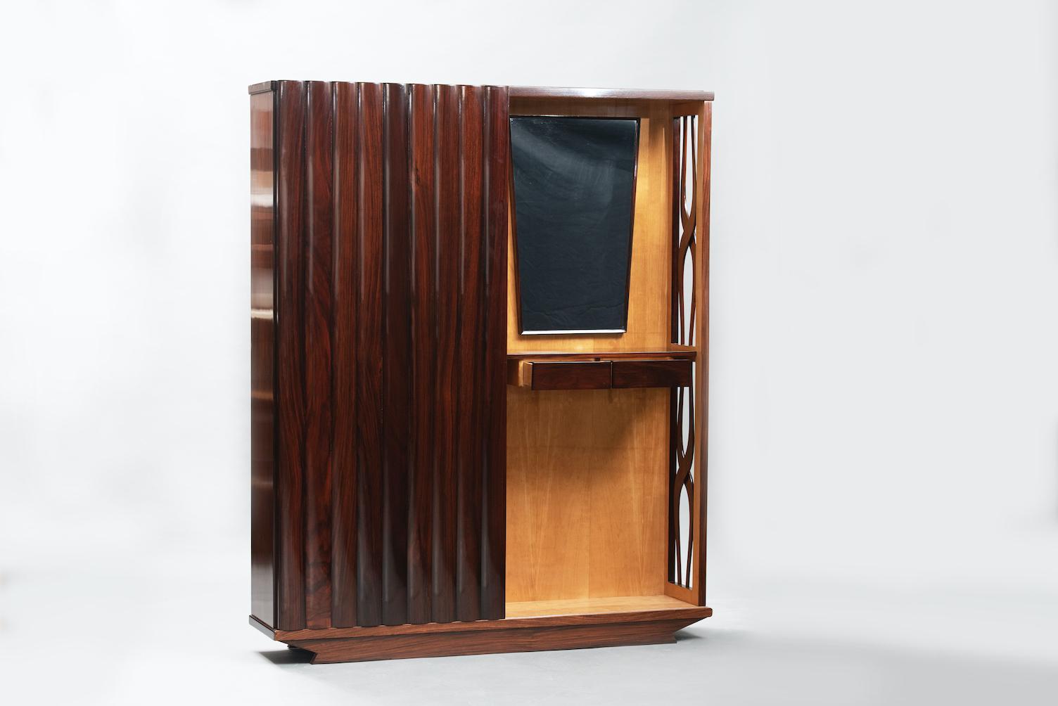 Mid-century rack console | 2