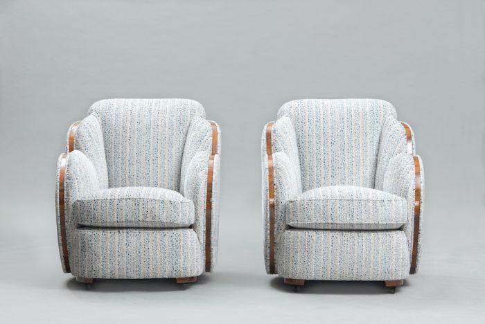 Art Deco Harry Lou Epstein cloud chairs