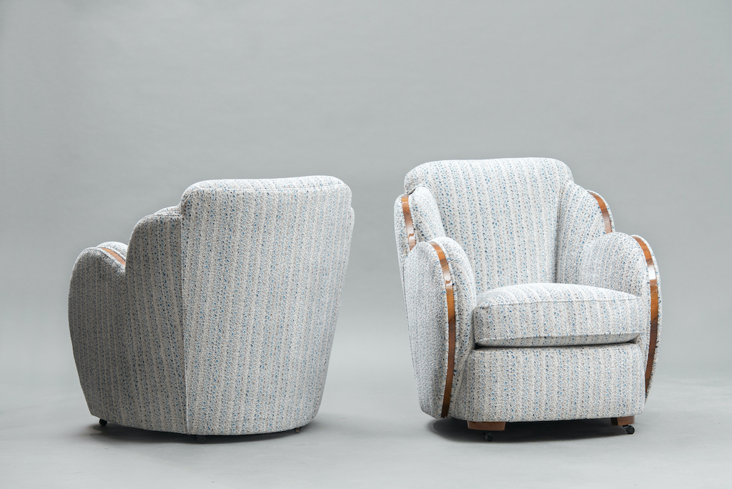 Art Deco Harry Lou Epstein cloud chairs | 2