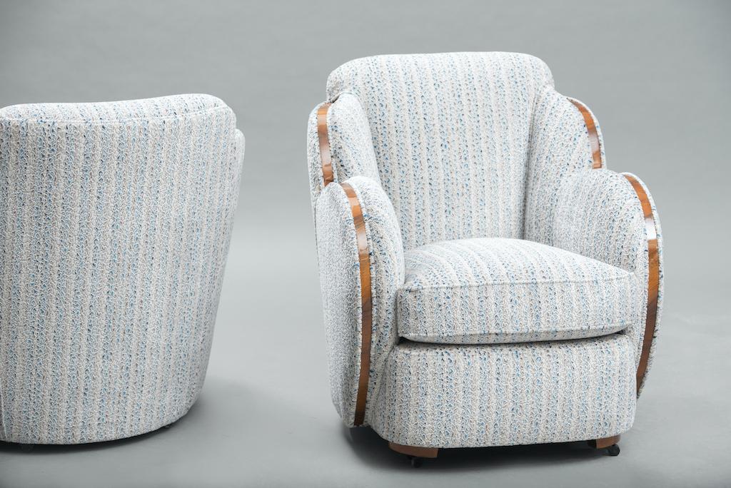Art Deco Harry Lou Epstein cloud chairs | 3