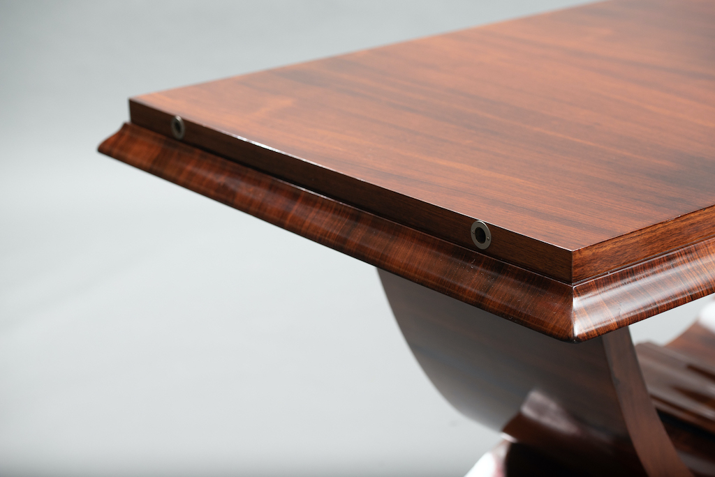 Art deco rosewood dining table | 3