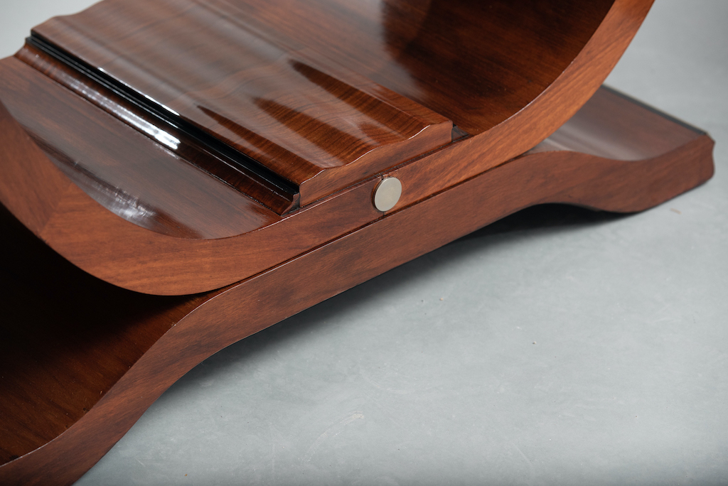 Art deco rosewood dining table | 4