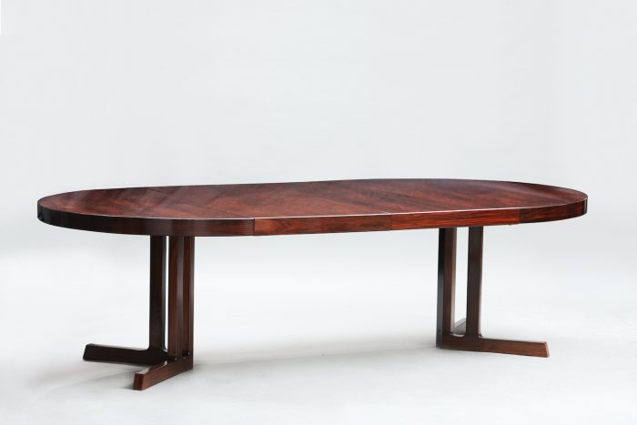 Rosewood mid century dining table | 1