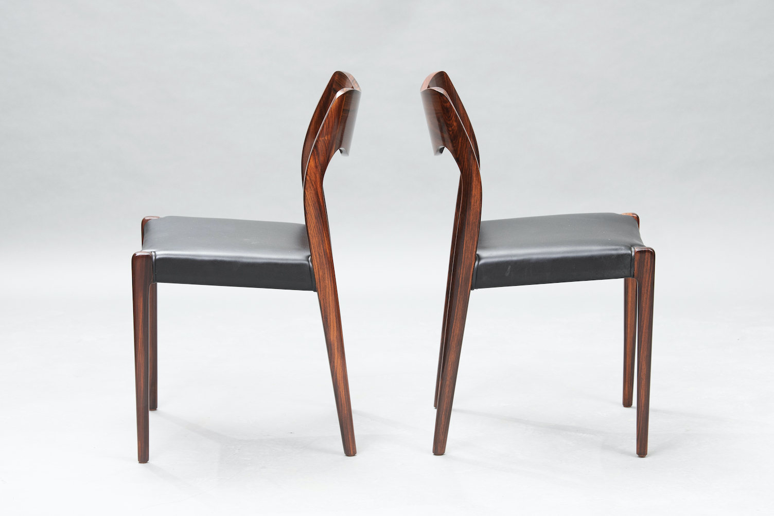 N.O. Moller 71 model dining chairs | 1