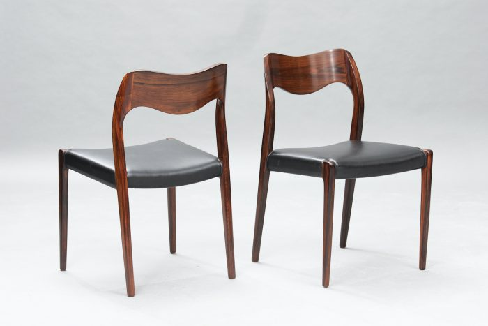 N.O. Moller 71 model dining chairs | 2