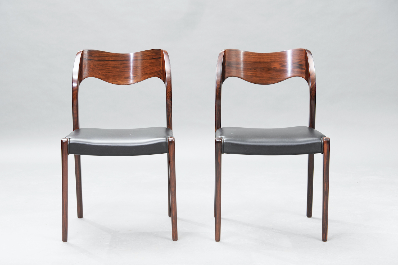 N.O. Moller 71 model dining chairs | 3