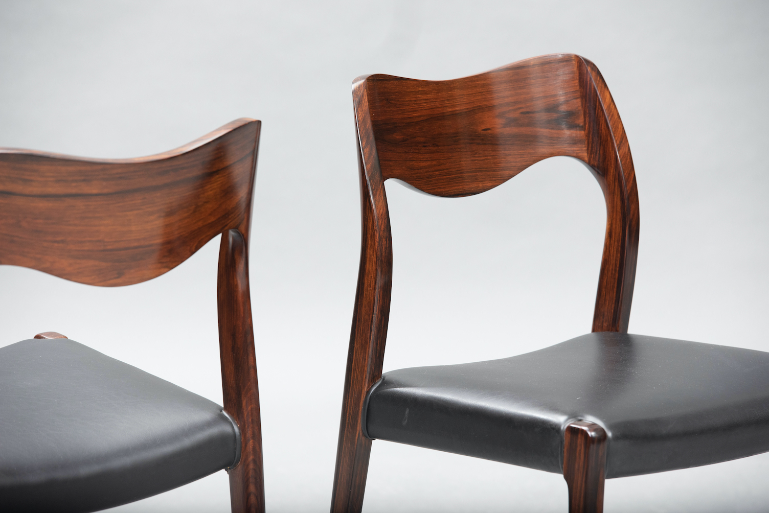 N.O. Moller 71 model dining chairs | 5