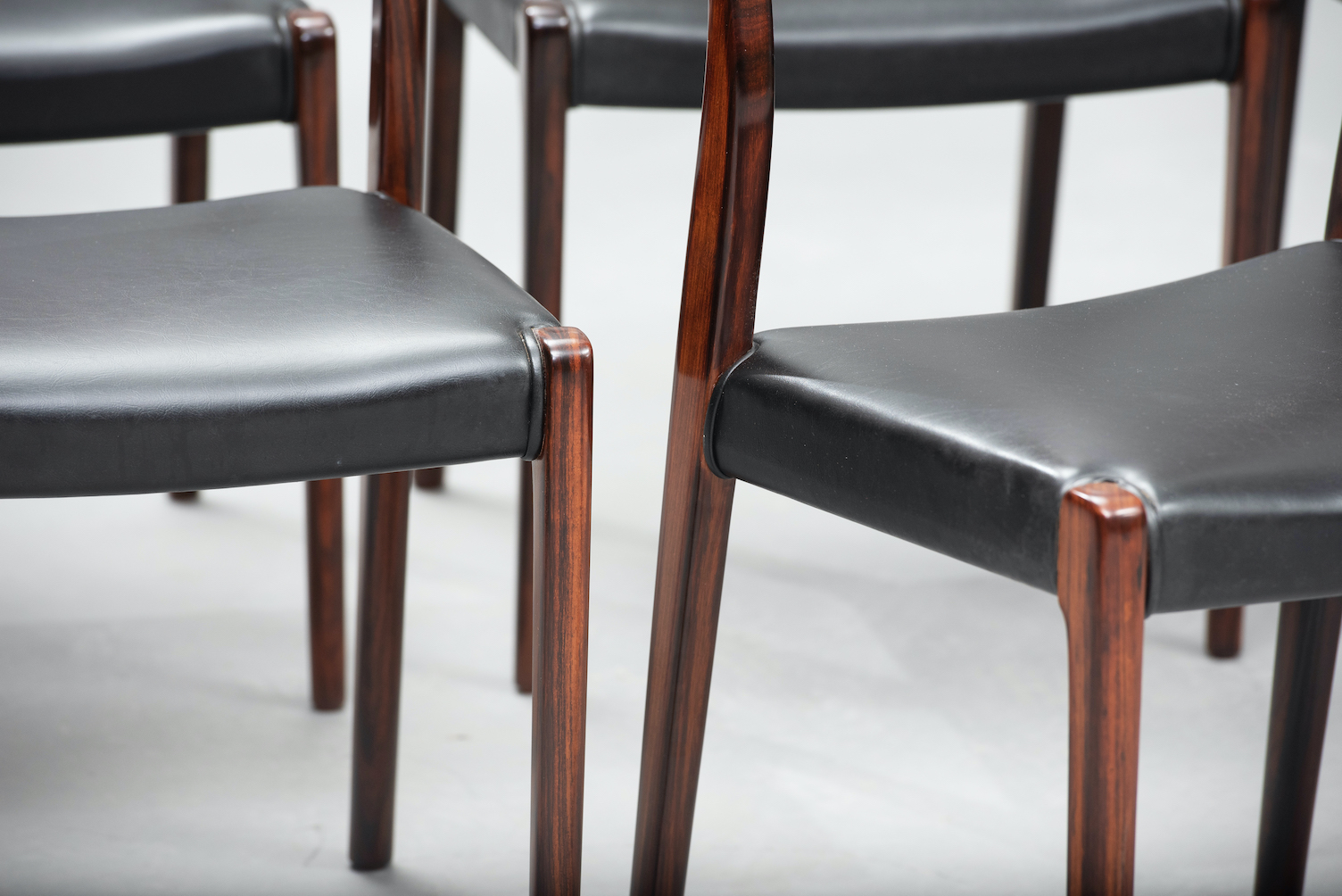 N.O. Moller 71 model dining chairs | 6