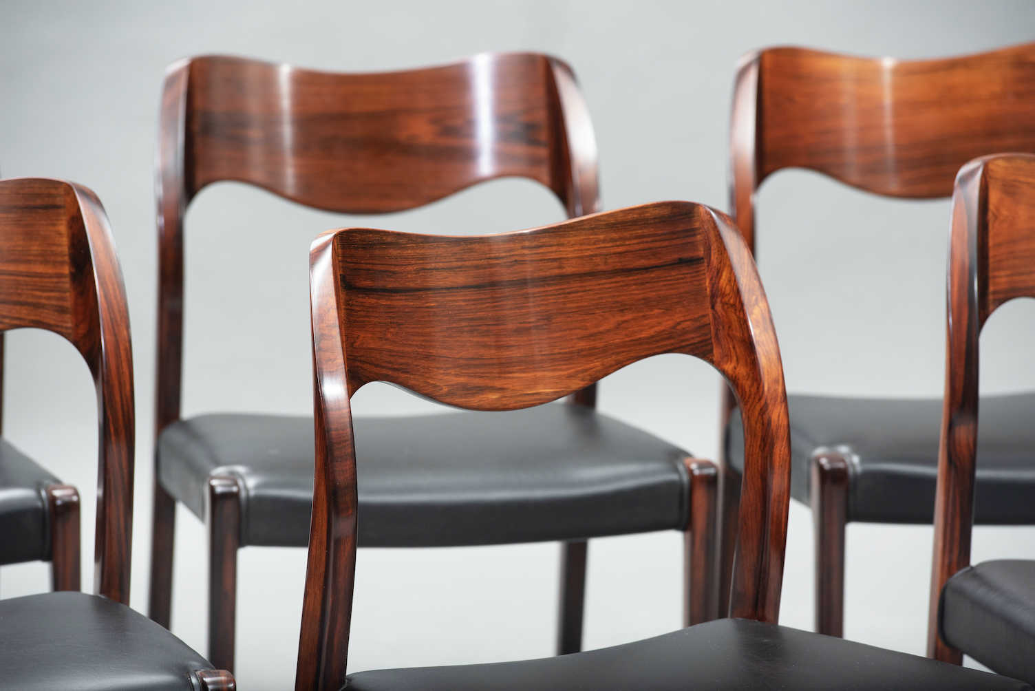 N.O. Moller 71 model dining chairs | 8