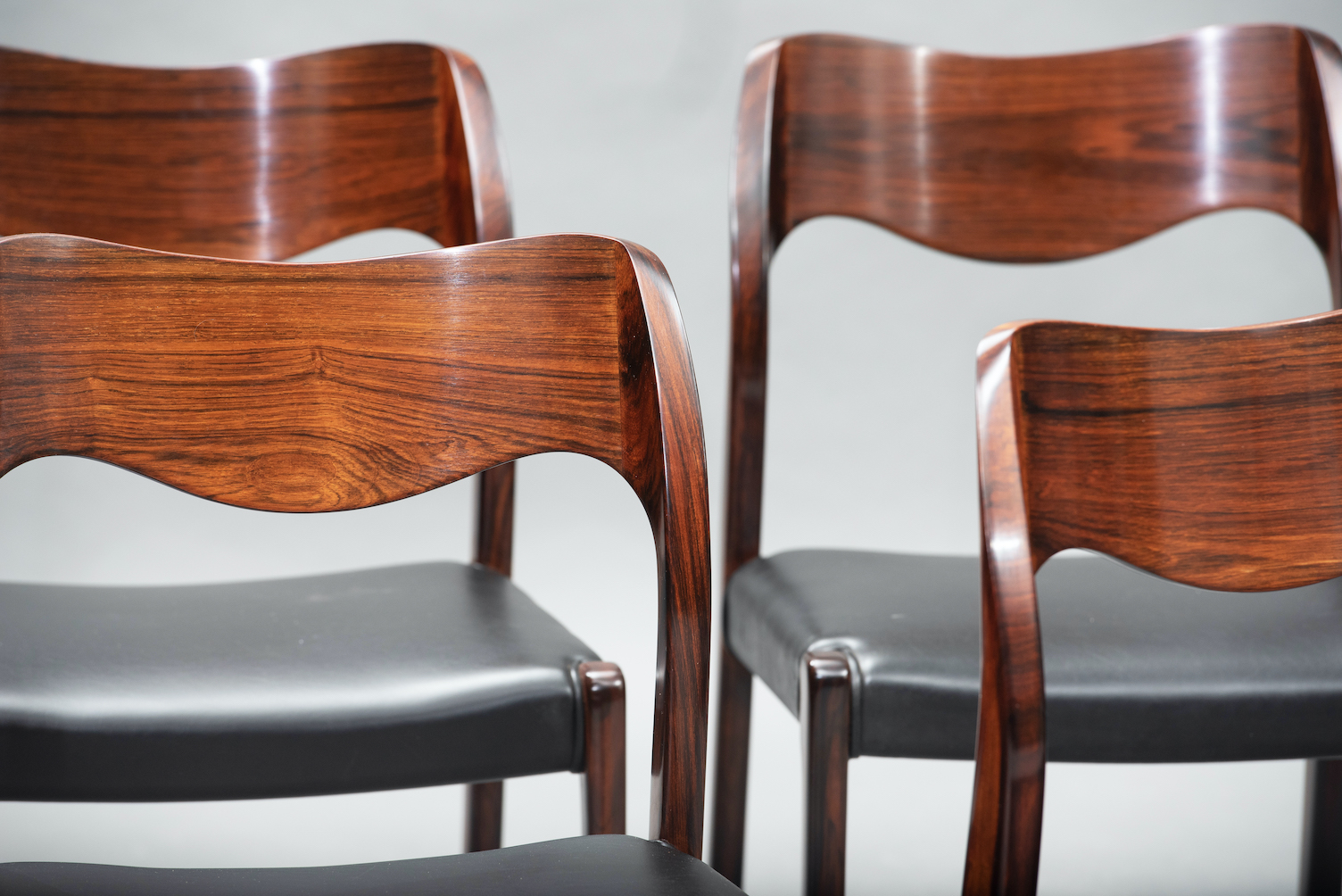 N.O. Moller 71 model dining chairs | 9